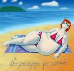 Ginger at the beach by joeman999