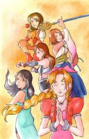 Final Fantasy Girls. 1000 hits by Gigei