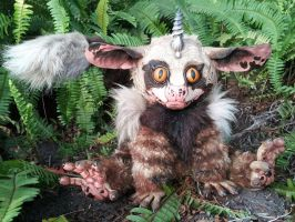*Drevis* the Poseable creepy cute OOAK creature by twyliteskyz