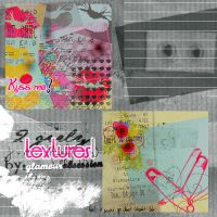 2 girly textures by GlamourObsession
