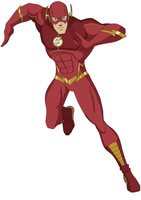 Commission: New Flash Suit Concept by AMTModollas