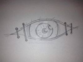 Eye of the protector tattoo concept by Vildivin