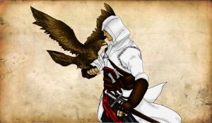 Altair Wallpaper by mialove01