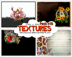 Textures Pack #15 by Bellacrix
