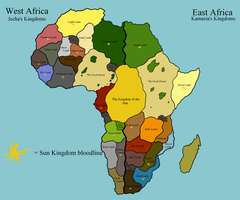 The Lion King: Map of Kingdoms by Demi-Dee96