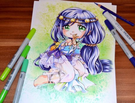 Nozomi from Love Live! by Lighane