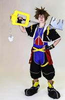 Sora- Kingdom Hearts II by twinfools