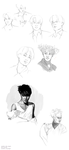jongin sketches by Yui-00