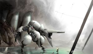 Resting pilot by greyhole