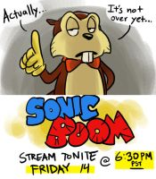It's not Over - Sonic Boom Stream Friday by AndrewDickman
