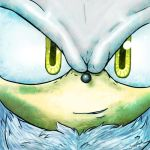 Silver the hedgehog - Face to Face by Jazz-M-Ink