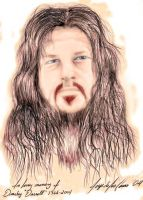Dimebag's Portrait Colored by sicMoP