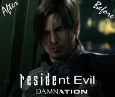 Resident evil Damnation. Before - After by Taitiii