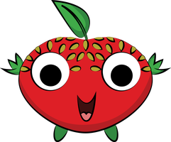 Cherry the strawberry by Andie200