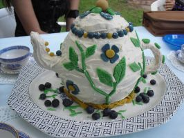 Teapot Cake by Clawmoon-Angel