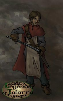 Talarra - Human Male by Aldriona
