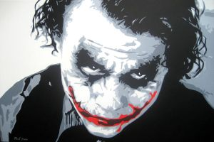 Why So Serious? by monkeyboydean
