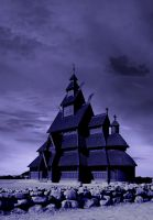 premade 4 wooden church by sometimesnooneknows