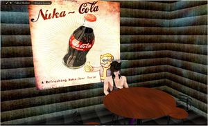 Fallout nuka cola by Seraphoid