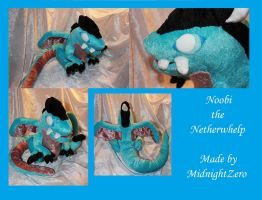 Noobi the Netherwhelp by MidnightZero