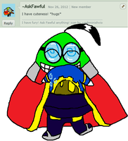 Comment 3 Hugged by Fawful by AskMagolor