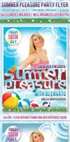 Summer Party Flyer Template by survivorcz