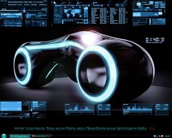 Tron screenshot by jlfarfan