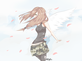 my angel by 19ann90