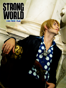 Sanji II - STRONG WORLD by drwarumono