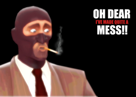 TF2 Spy by thebomblu