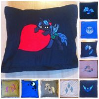 So many Pillows, Available on ponymerch.com by GrayTheZebra