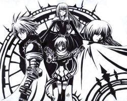 Chaos Legion Group pic -inked by EternalButterfly