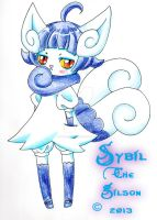 Sybil the Meowstic by spiderliing666