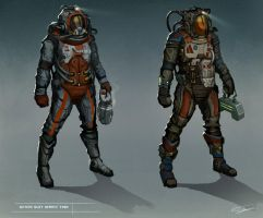 Space suit designs by anthon500