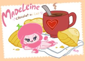 Madeleine milk chocolate by PumaHTF