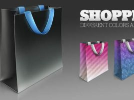 Shopping bag icons by FreeIconsFinder