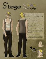 Character Sheet - S'tego by mewgal