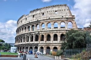Rome - Basilica of Colosseum by Lauren-Lee