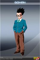 Dragon Ball GT - Gohan by DBCProject