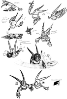 Sketchdump - Secant Spam by Cascade-Kirby
