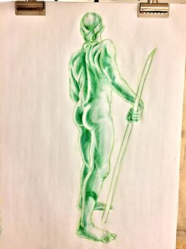 Green Man by shadowrules13