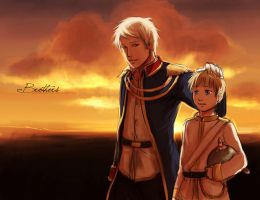APH: Brothers by deathbybroccoli