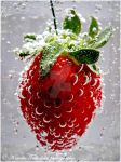 . Strawberry . by KimikoTakeshita