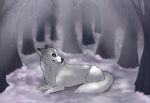 Snowy Forest by shattered-bones