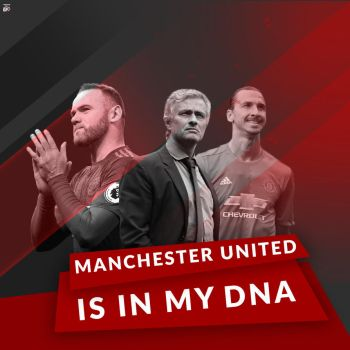 MANCHESTER UNITED IS IN MY DNA dp by Ropn1996