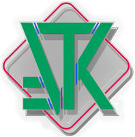 VTK Logo in Glass and Matte by vidthekid