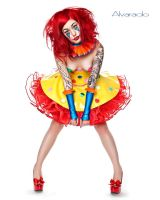 Clown Couture by ladylucie