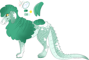 Croc-a-Poodle Adopt -CLOSED- by PinkPoodle543