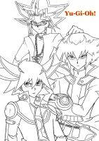 Generations of Yu-Gi-Oh by E-HARO