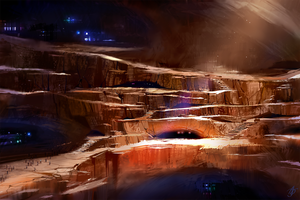 Subterranean Civilization by asong0116